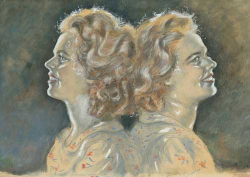 Viviane et Vivette Le Roy