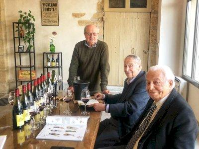 Le magazine Vins & Gastronomie en visite à Château Fortia