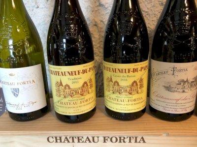 Au Château Fortia, on cultive l'excellence